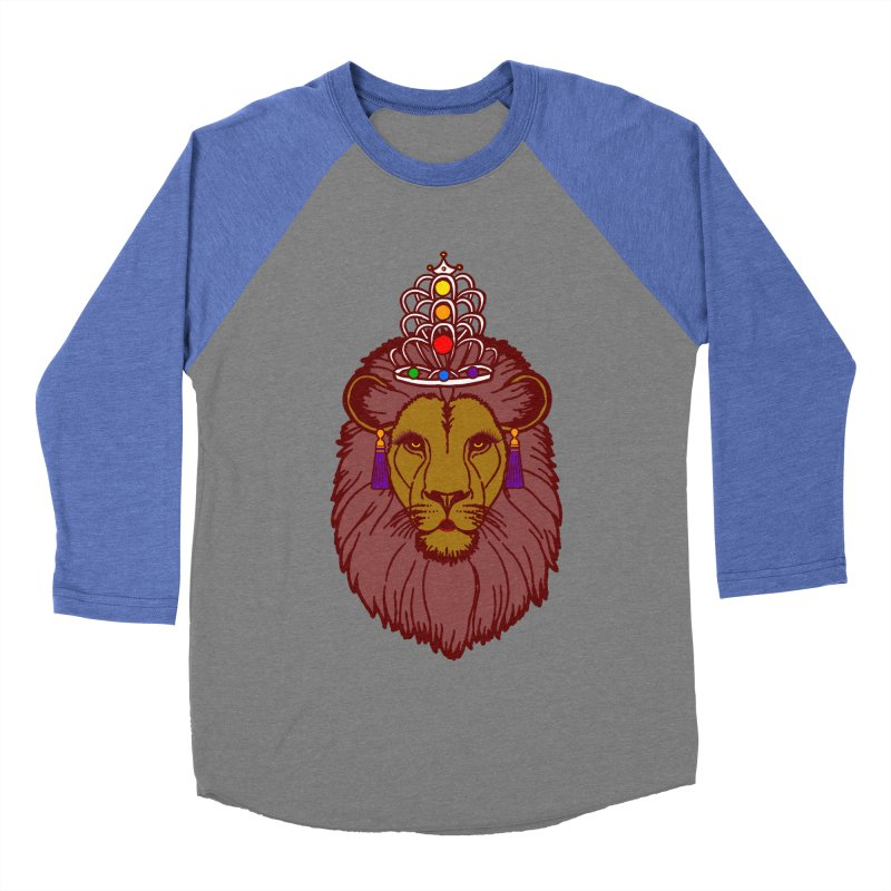 Queen of the pride Men's Baseball Triblend Longsleeve T-Shirt by Thirty Silver