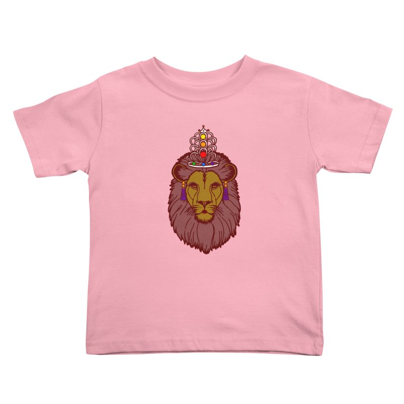 Queen of the pride Kids Toddler T-Shirt by Thirty Silver