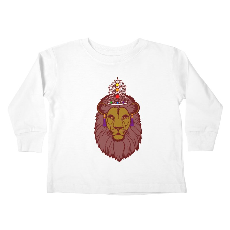 Queen of the pride Kids Toddler Longsleeve T-Shirt by Thirty Silver
