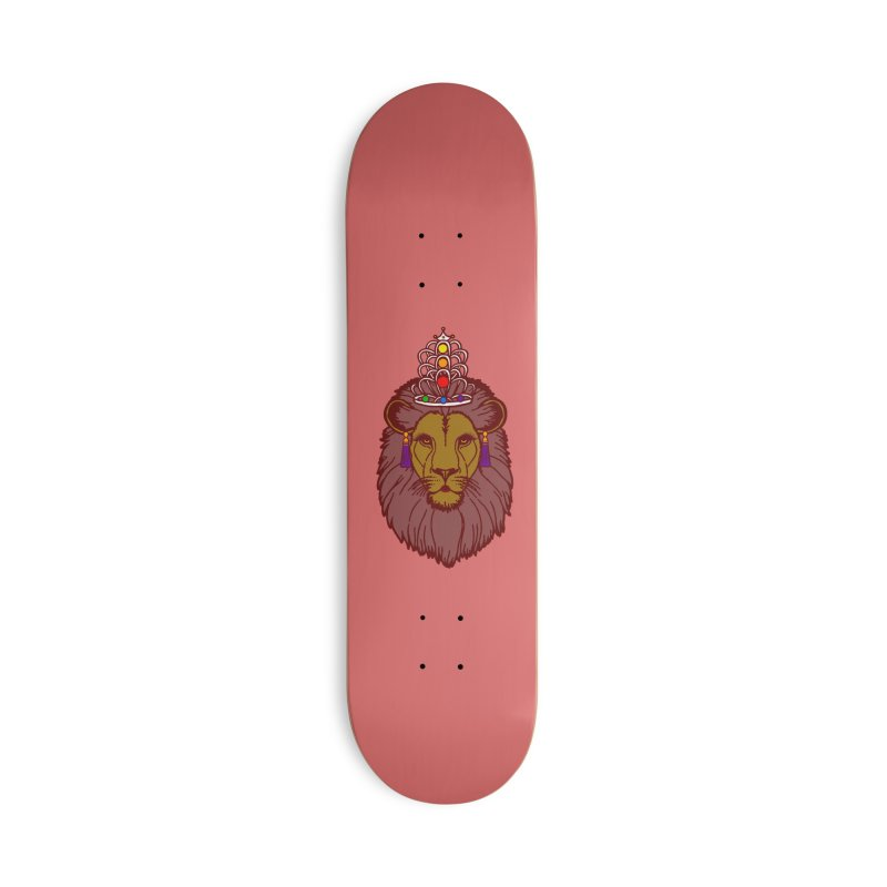 Queen of the pride Accessories Deck Only Skateboard by Thirty Silver