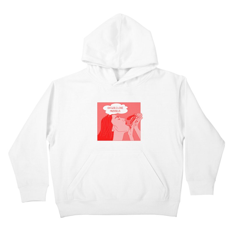 OMG Mussels Kids Pullover Hoody by Thirty Silver