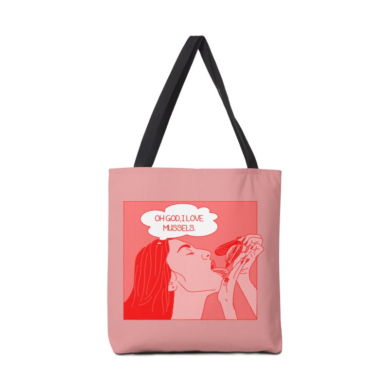OMG Mussels Accessories Tote Bag Bag by Thirty Silver