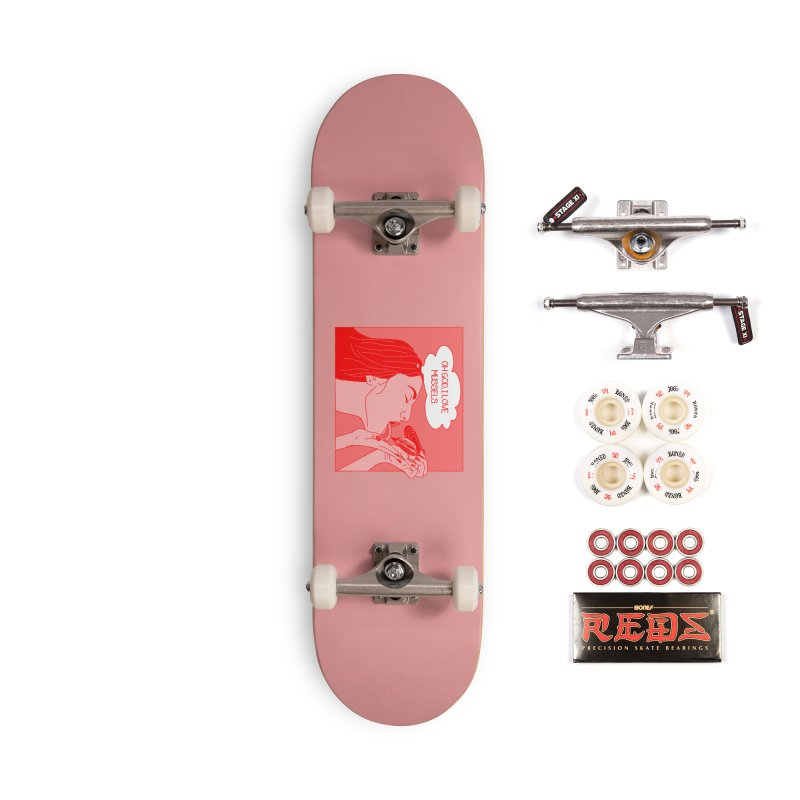 OMG Mussels Accessories Complete - Pro Skateboard by Thirty Silver