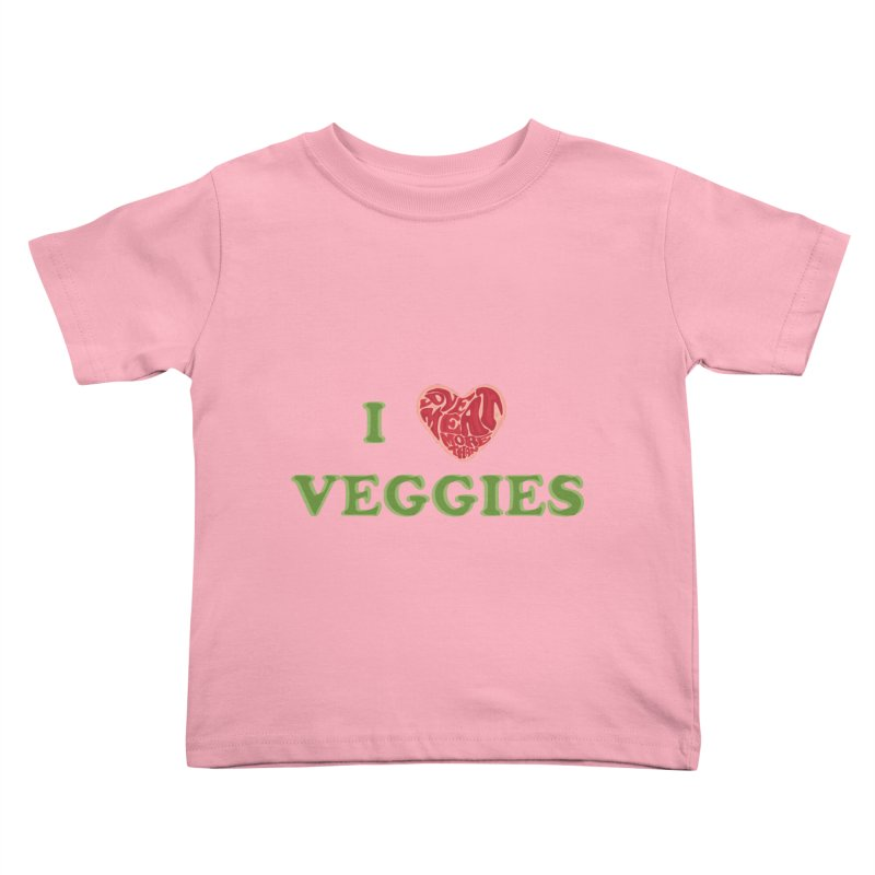 Omnivore Kids Toddler T-Shirt by Thirty Silver