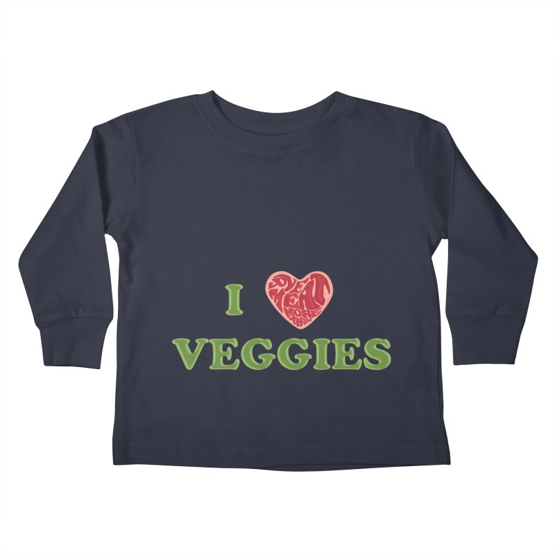 Omnivore Kids Toddler Longsleeve T-Shirt by Thirty Silver