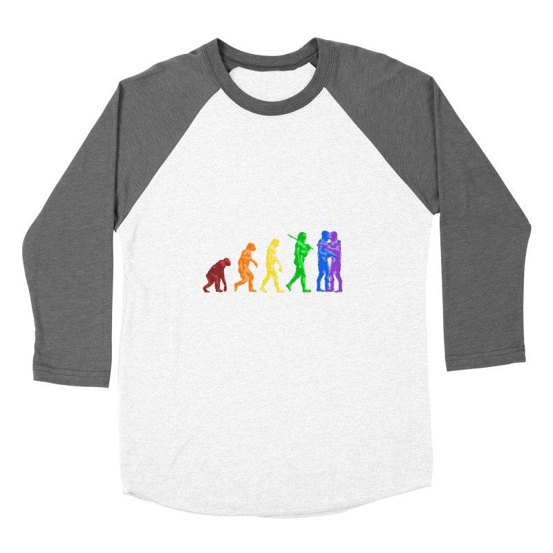 Darwin's Men's Baseball Triblend T-Shirt by Thirty Silver