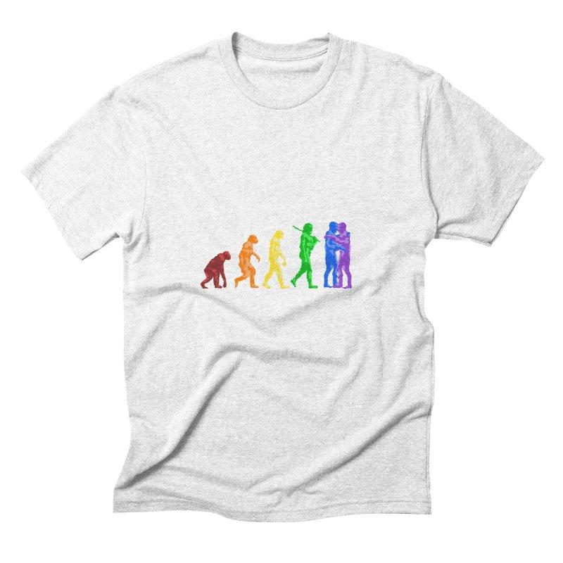 Darwin's Men's Triblend T-shirt by Thirty Silver