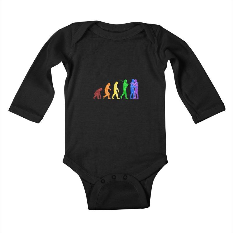 Darwin's Kids Baby Longsleeve Bodysuit by Thirty Silver