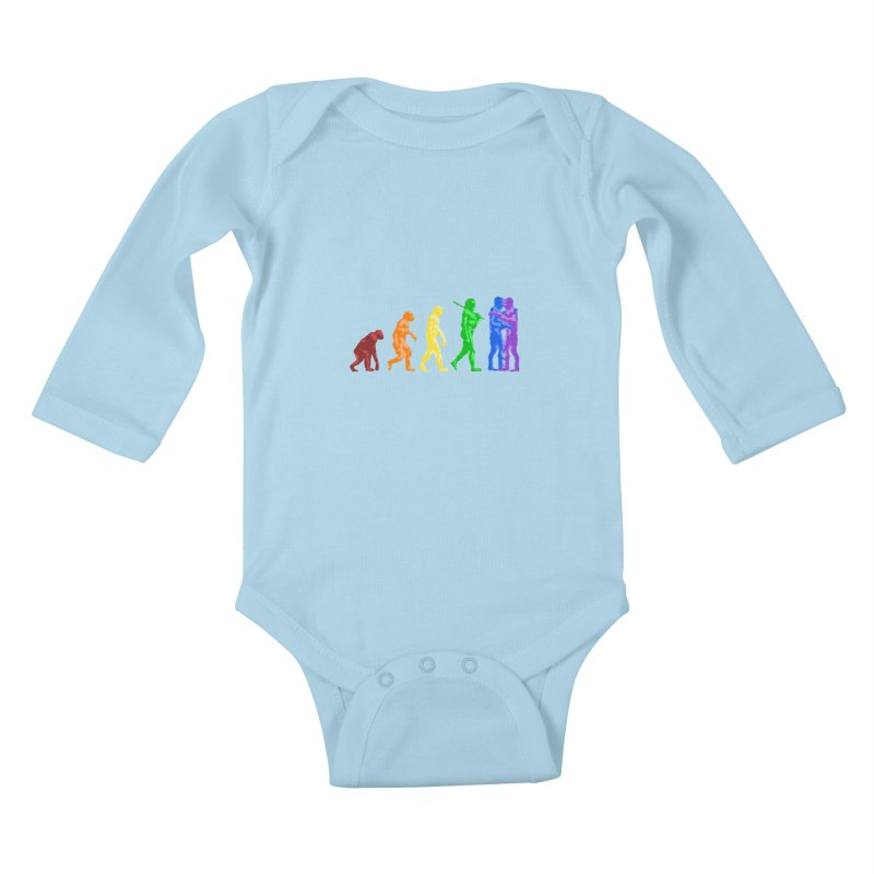 Darwin's Kids Baby Longsleeve Bodysuit by Thirty Silver