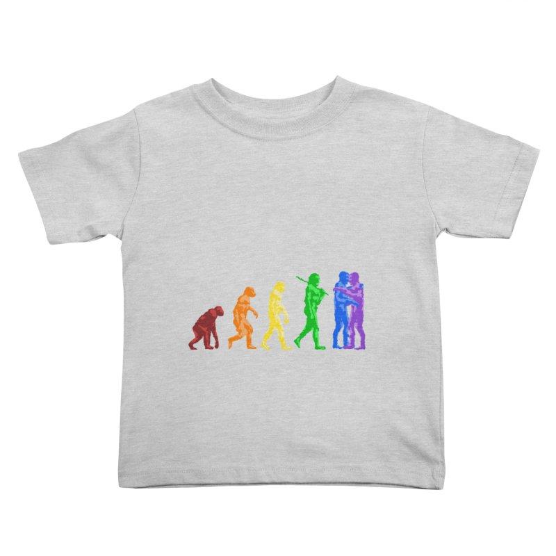 Darwin's Kids Toddler T-Shirt by Thirty Silver