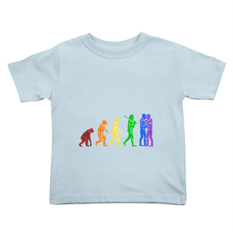 Darwin's Kids Toddler T-Shirt by Thirty Silver