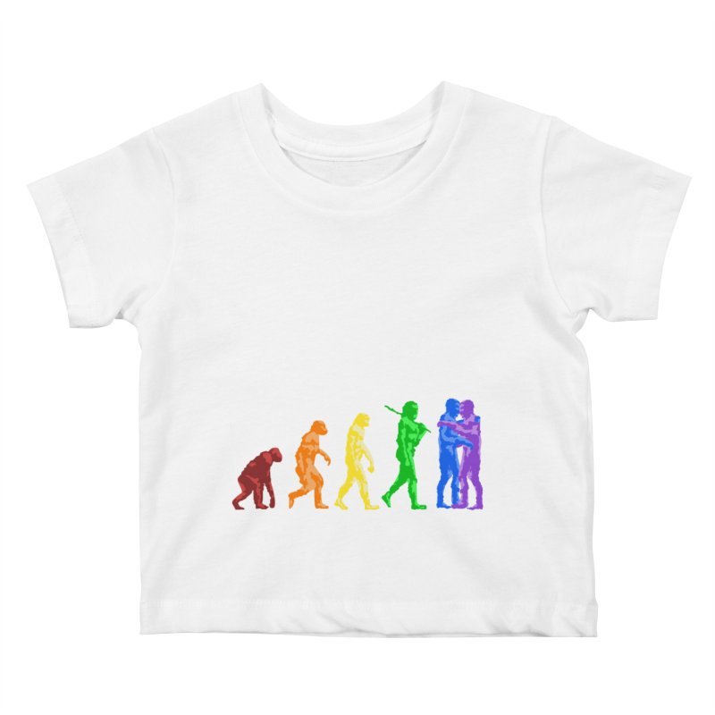Darwin's Kids Baby T-Shirt by Thirty Silver