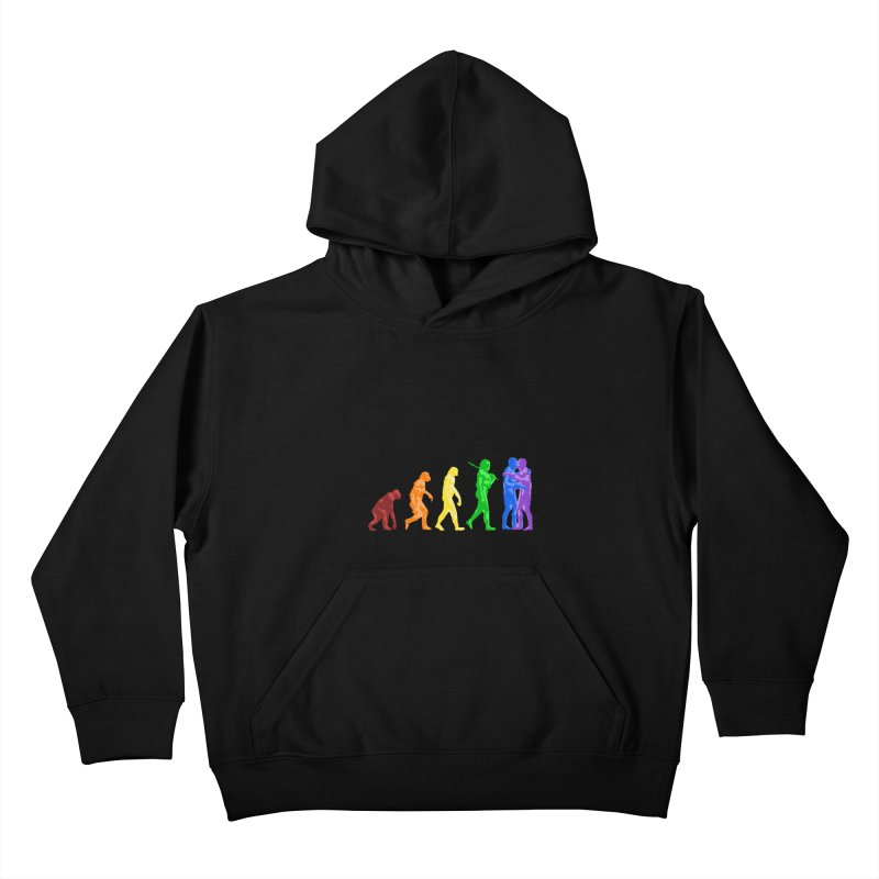Darwin's Kids Pullover Hoody by Thirty Silver