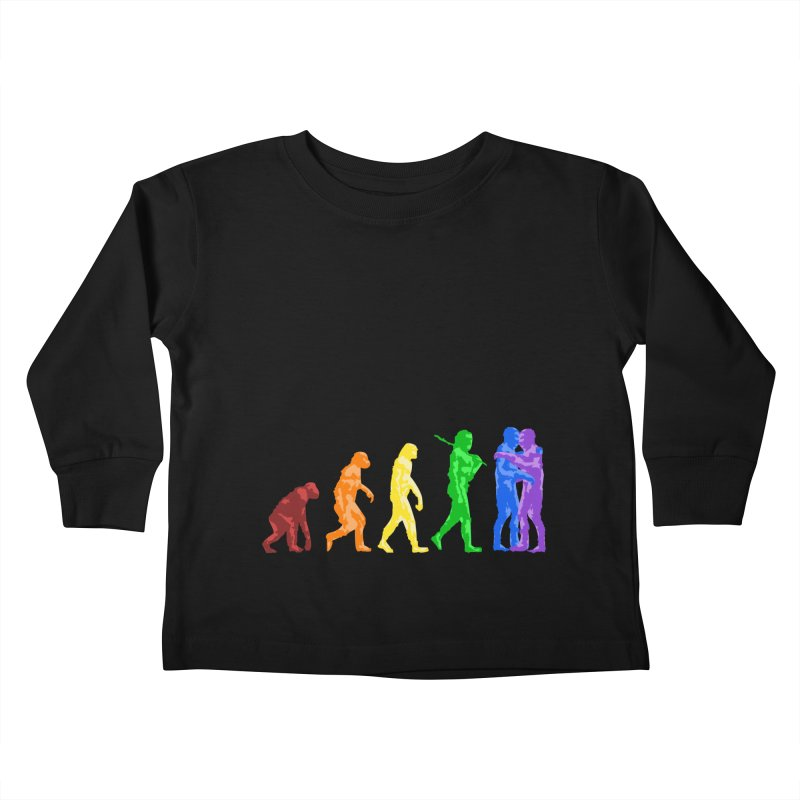 Darwin's Kids Toddler Longsleeve T-Shirt by Thirty Silver