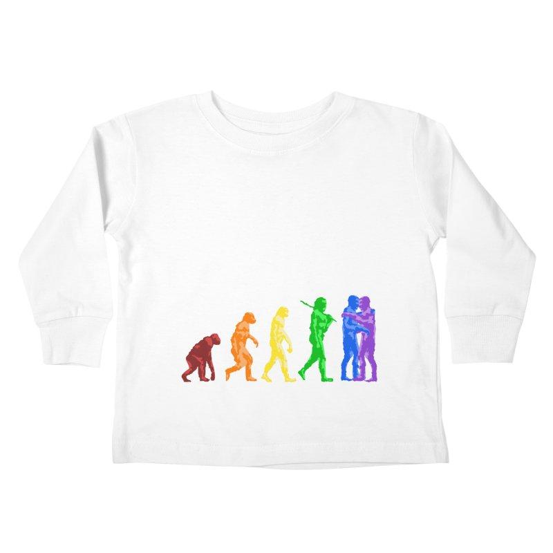 Darwin's Kids Toddler Longsleeve T-Shirt by Thirty Silver