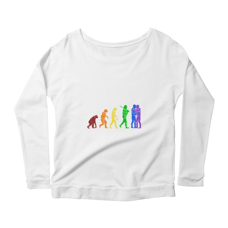 Darwin's Women's Longsleeve Scoopneck  by Thirty Silver