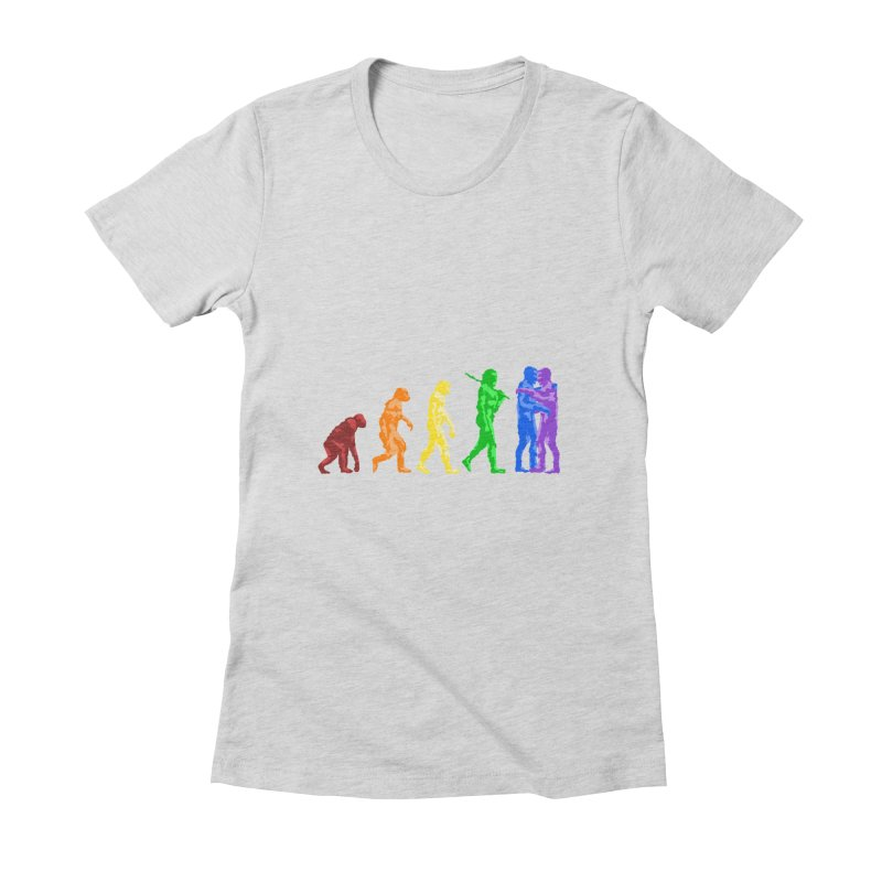 Darwin's Women's Fitted T-Shirt by Thirty Silver