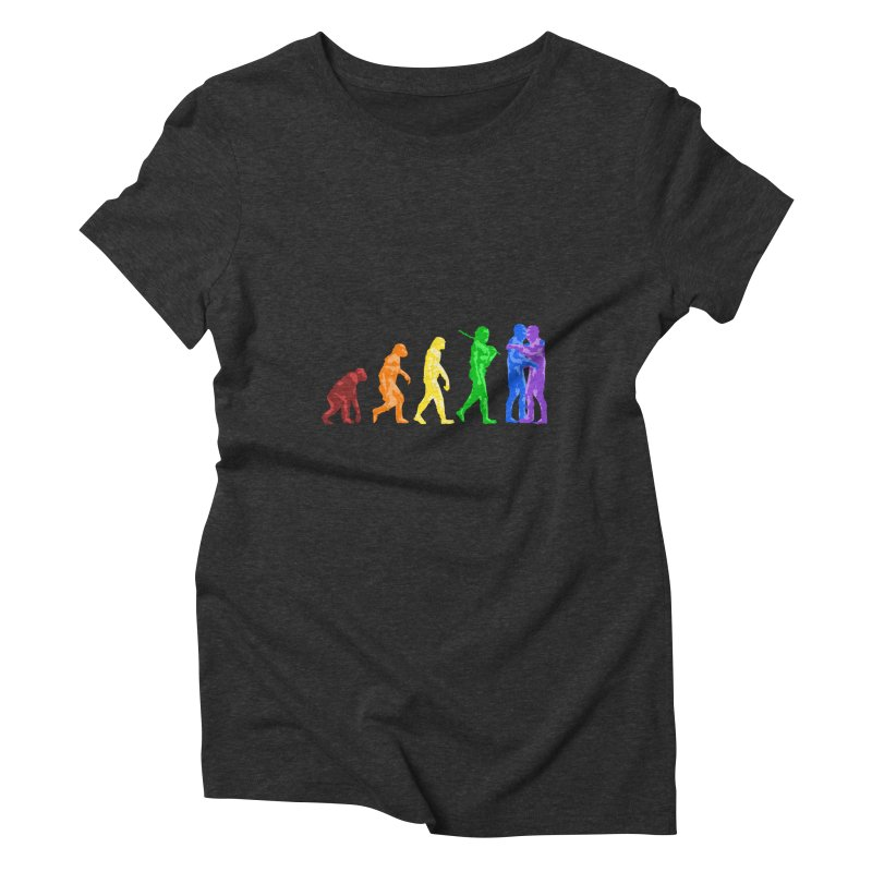 Darwin's Women's Triblend T-shirt by Thirty Silver