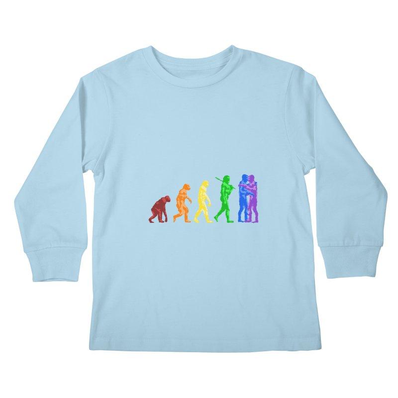 Darwin's Kids Longsleeve T-Shirt by Thirty Silver