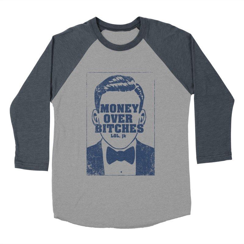 MOB Men's Baseball Triblend T-Shirt by Thirty Silver