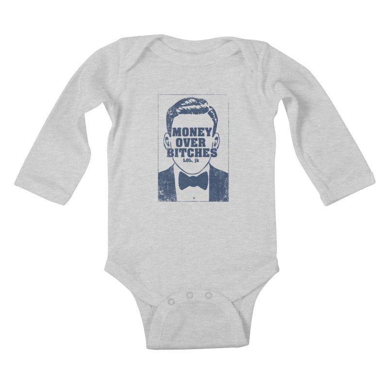 MOB Kids Baby Longsleeve Bodysuit by Thirty Silver