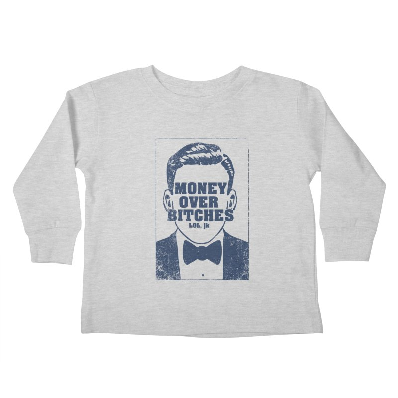 MOB Kids Toddler Longsleeve T-Shirt by Thirty Silver