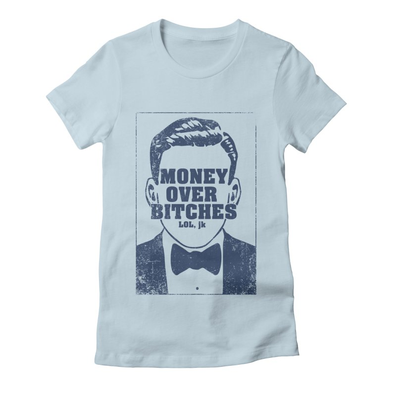 MOB Women's Fitted T-Shirt by Thirty Silver