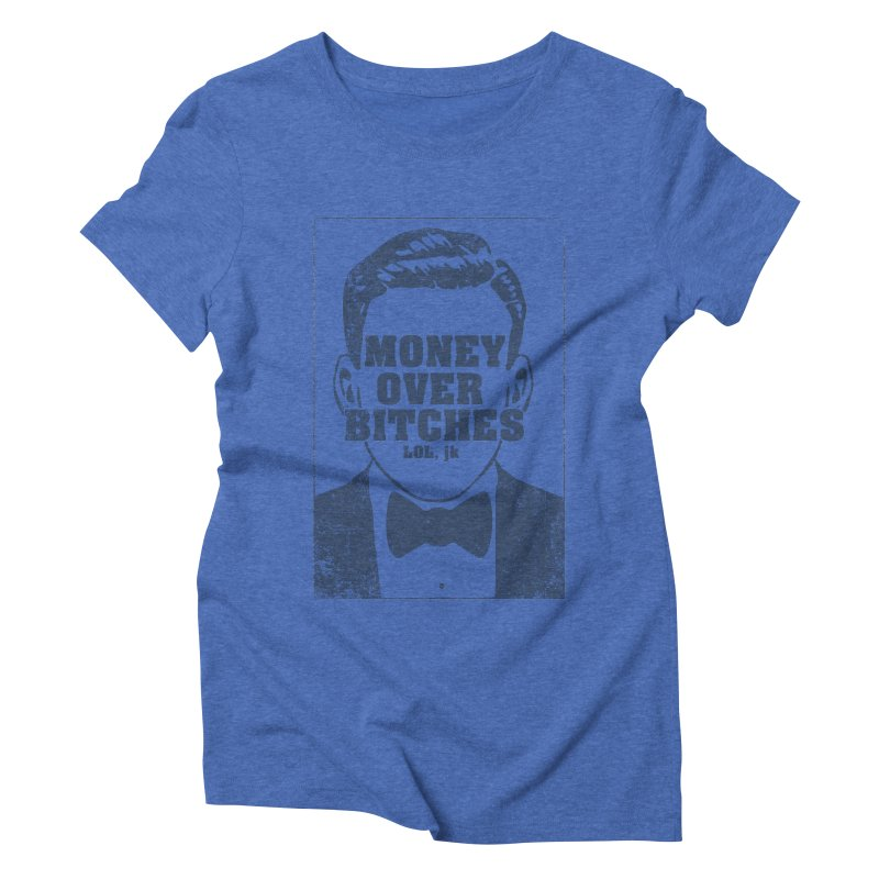 MOB Women's Triblend T-shirt by Thirty Silver