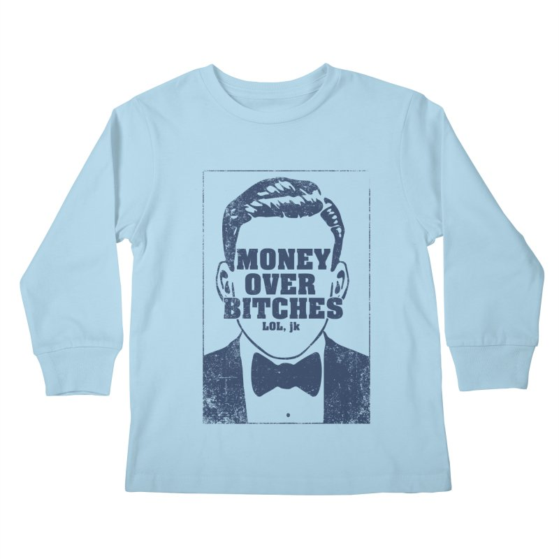 MOB Kids Longsleeve T-Shirt by Thirty Silver