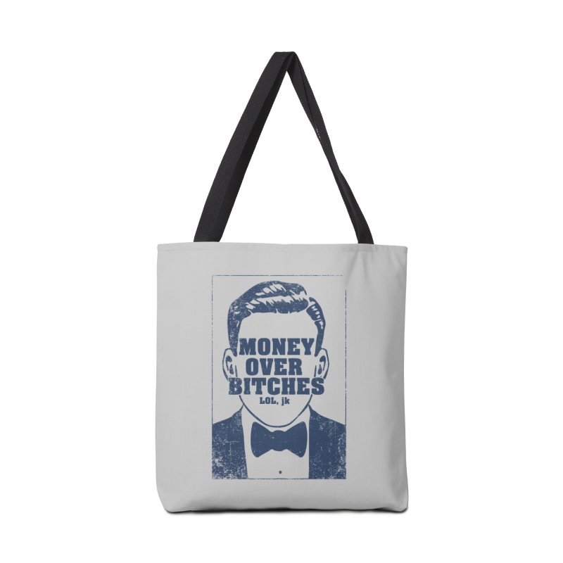 MOB Accessories Tote Bag Bag by Thirty Silver