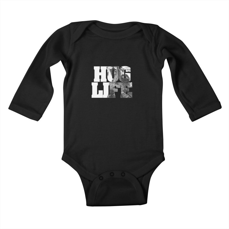 Thug Life Kids Baby Longsleeve Bodysuit by Thirty Silver