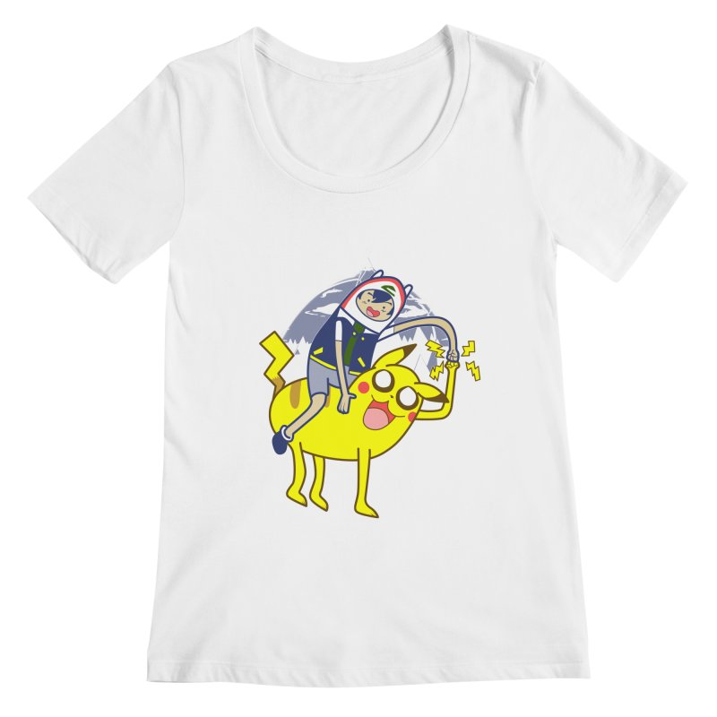 Pika Time! Women's Scoopneck by Thirty Silver