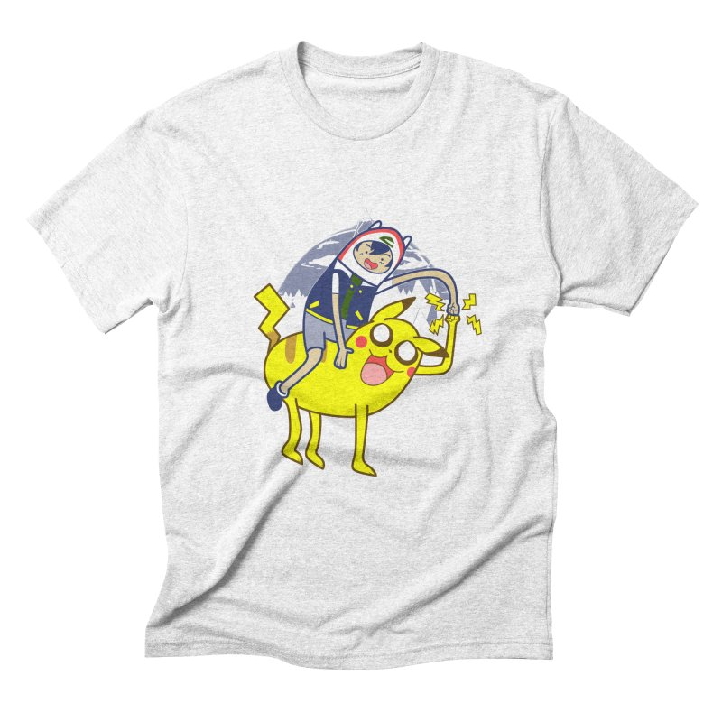 Pika Time! Men's Triblend T-shirt by Thirty Silver