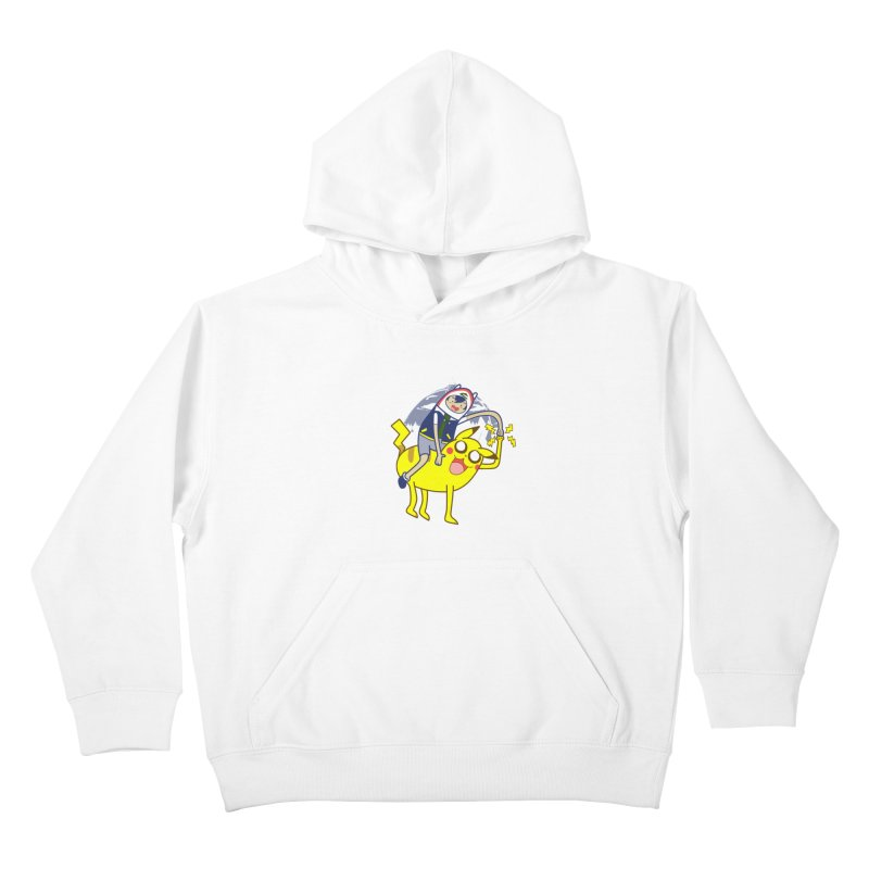 Pika Time! Kids Pullover Hoody by Thirty Silver