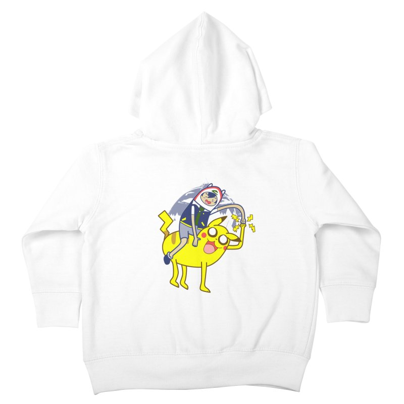 Pika Time! Kids Toddler Zip-Up Hoody by Thirty Silver