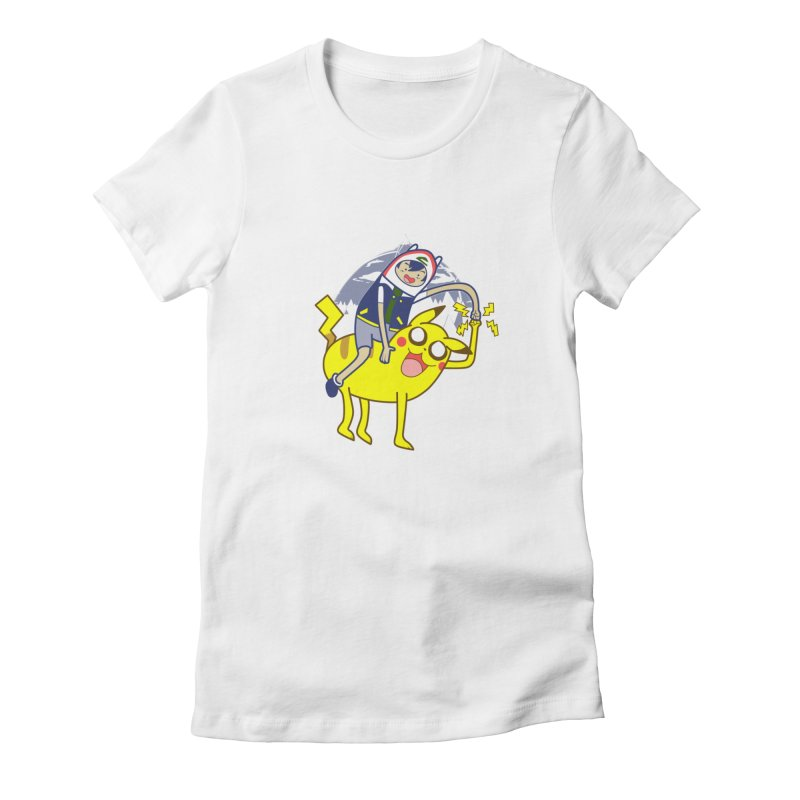 Pika Time! Women's T-Shirt by Thirty Silver