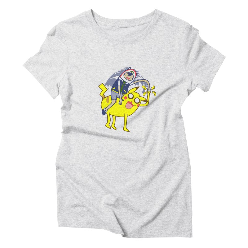Pika Time! Women's Triblend T-Shirt by Thirty Silver