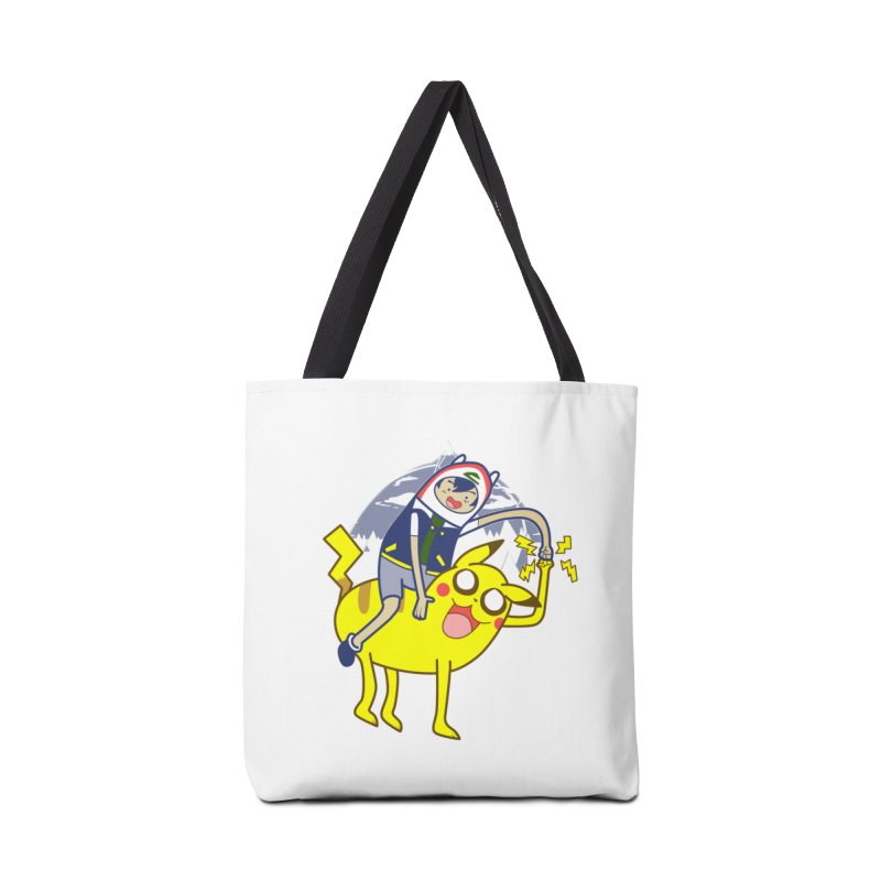 Pika Time! Accessories Tote Bag Bag by Thirty Silver
