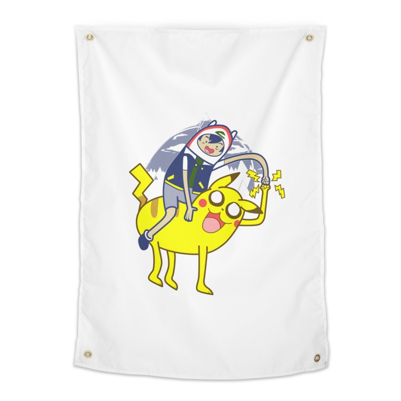 Pika Time! Home Tapestry by Thirty Silver