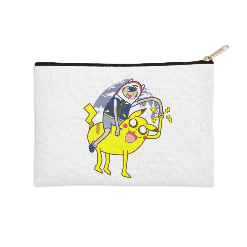 Pika Time! Accessories Zip Pouch by Thirty Silver