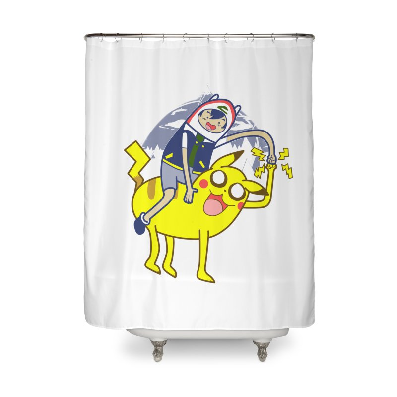 Pika Time! Home Shower Curtain by Thirty Silver
