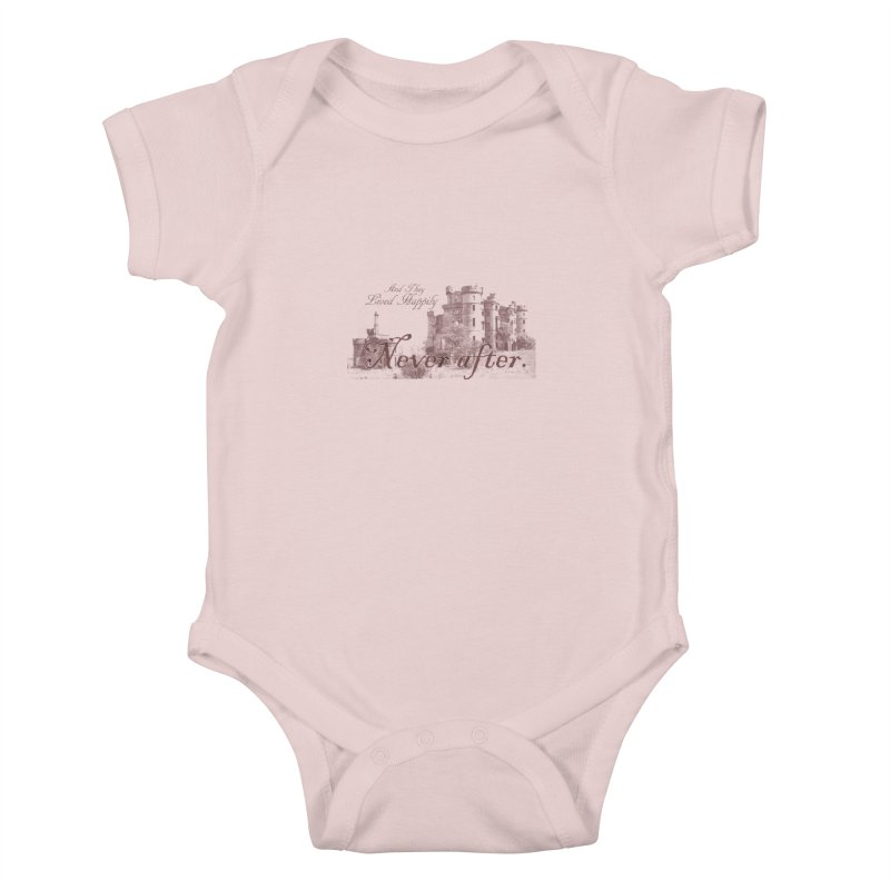 Happily Never After Kids Baby Bodysuit by Thirty Silver