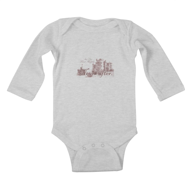 Happily Never After Kids Baby Longsleeve Bodysuit by Thirty Silver