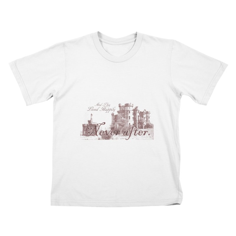 Happily Never After Kids T-Shirt by Thirty Silver