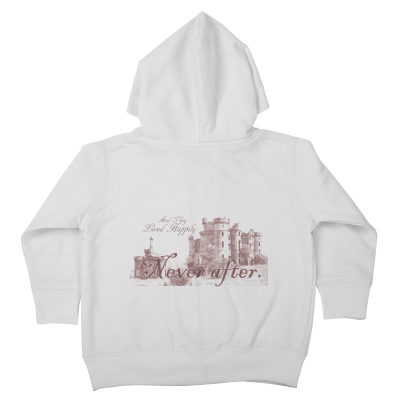 Happily Never After Kids Toddler Zip-Up Hoody by Thirty Silver