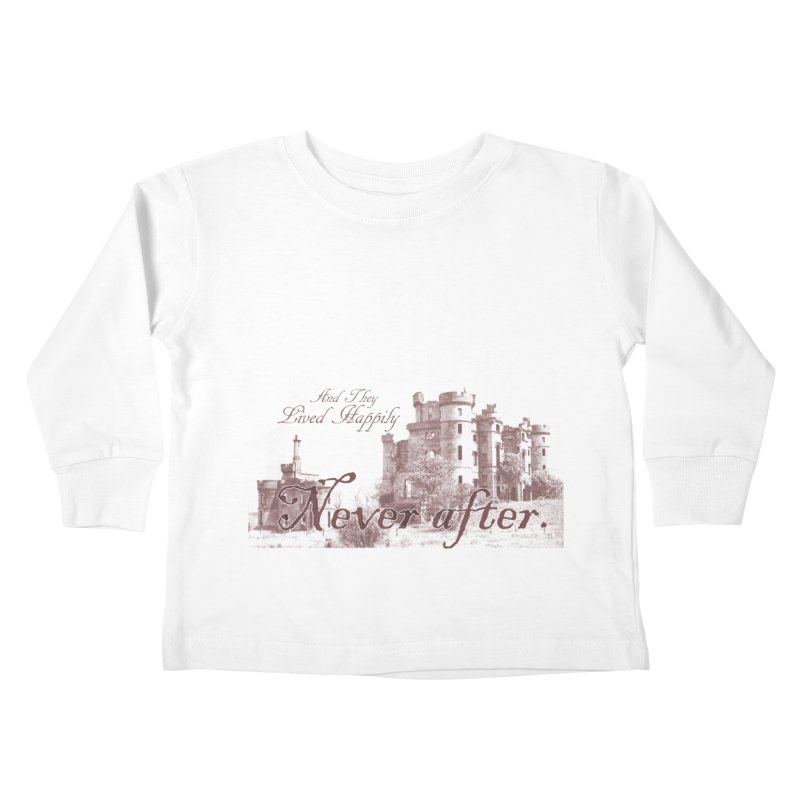 Happily Never After Kids Toddler Longsleeve T-Shirt by Thirty Silver