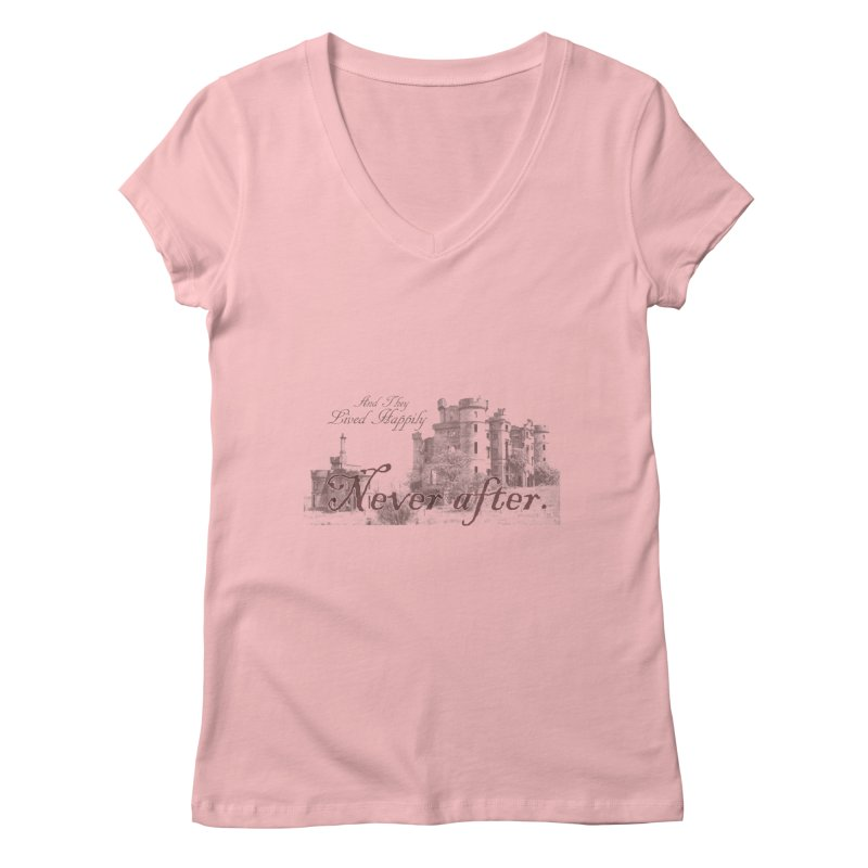 Happily Never After Women's V-Neck by Thirty Silver