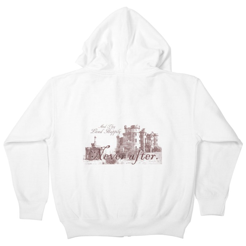 Happily Never After Kids Zip-Up Hoody by Thirty Silver