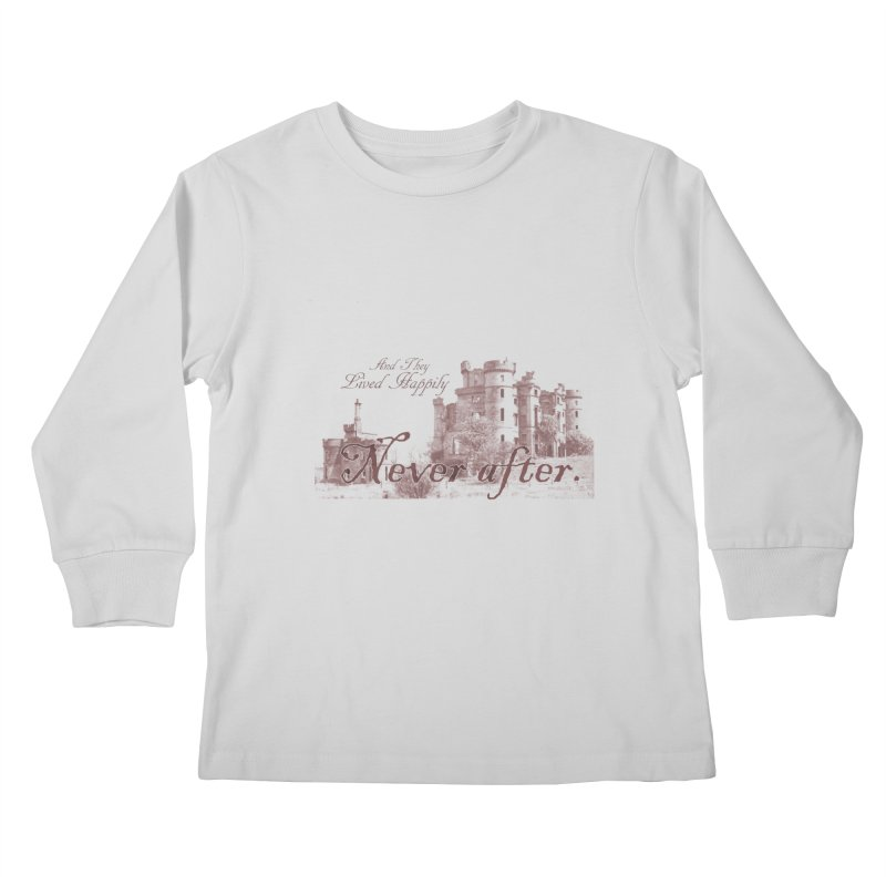 Happily Never After Kids Longsleeve T-Shirt by Thirty Silver