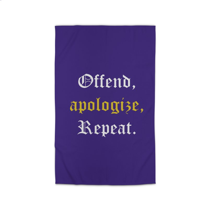 Sorry Not Sorry Home Rug by Thirty Silver